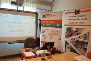 """Projekt Erazmus+  """"Glocalization in adult education"""", Workshop: Glocalization in global education"""", Krakov, 31.05 – 03.06.2017"""