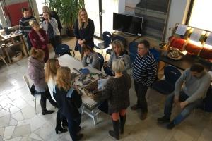 "Projekt Erazmus+  ""Glocalization in adult education"", Workshop: Glocalization in community local life and education"", Gdow, Poľsko, 12.14.Dec.2016"