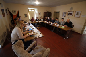 "Projekt Erazmus+  ""Glocalization in adult education"", Workshop: Glocalization in local education"", Štiavnické Bane, 05.-08.april2017"
