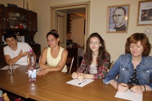 """Projekt Erazmus+ Globálne vzdelávanie, local activity: """"Closing evaluation meeting"""", Štiavnické Bane and Sitno, 31.08.2017"""
